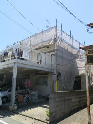 松田寿雄様邸塗装