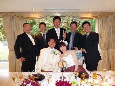 おちゃむの『よろこびの庭』-東谷結婚式 友人と