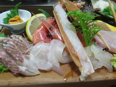 城崎サンルート料理
