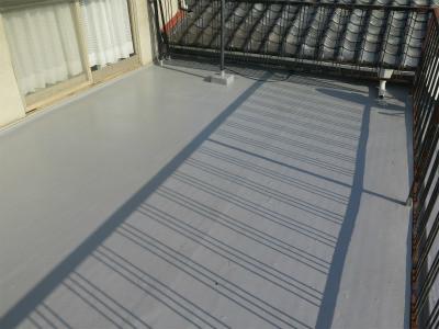 陸屋根 防水工事 FRP防水