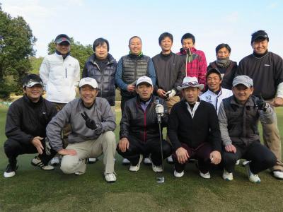 岡山城東ゴルフ集合写真