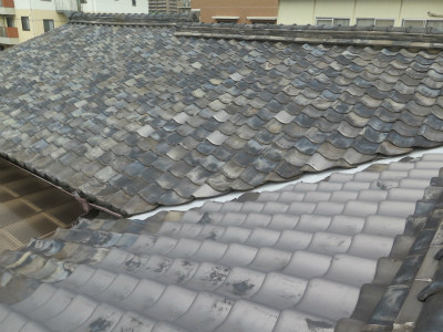 築40年屋根