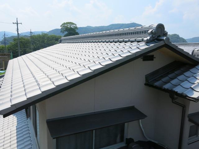 西田秀雄 2階屋根