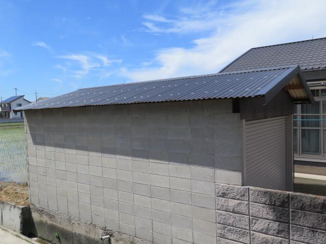 スレート改修 板金屋根