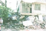 おちゃむの『よろこびの庭』-地震