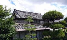 おちゃむの『よろこびの庭』-難波稔様邸 前 日本瓦