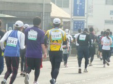 おちゃむの『よろこびの庭』-2012.2.6.丸亀マラソン