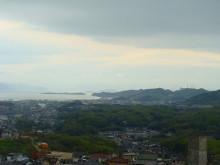 おちゃむの『よろこびの庭』-倉敷シルバーセンターより瀬戸内海を眺める