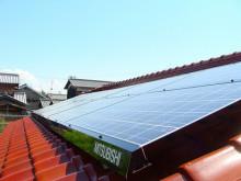 おちゃむの『よろこびの庭』-三菱太陽光発電