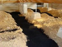 おちゃむの『よろこびの庭』-活性炭 土部分