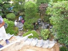 おちゃむの『よろこびの庭』-片山様邸 屋根面から撮影
