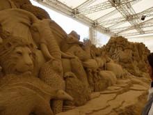 おちゃむの『よろこびの庭』-砂の美術館 拡大