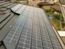 おちゃむの『よろこびの庭』-太陽光発電設置 平板瓦