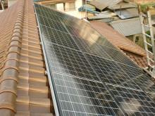 おちゃむの『よろこびの庭』-太陽光発電設置 S瓦