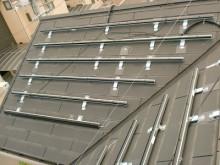 おちゃむの『よろこびの庭』-太陽光発電設置 板金屋根
