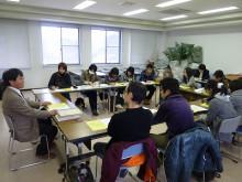 おちゃむの『よろこびの庭』-12.7県大生徒  橋本講義