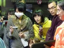 おちゃむの『よろこびの庭』-12.7県大生徒  工場見学
