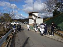 おちゃむの『よろこびの庭』-20111.2. 関西球場 集合前