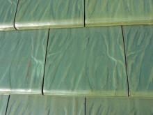 おちゃむの『よろこびの庭』-平板瓦 緑青色