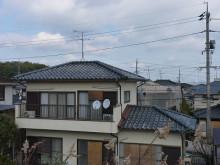 おちゃむの『よろこびの庭』-新田様 前 セメント瓦