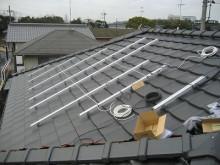 おちゃむの『よろこびの庭』-太陽光設置 ラック付け