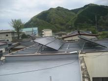 おちゃむの『よろこびの庭』-太陽光発電 陸屋根設置②