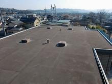 おちゃむの『よろこびの庭』-太陽光発電 陸屋根設置通常⑤