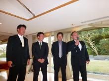 おちゃむの『よろこびの庭』-東谷結婚式 友人と余興