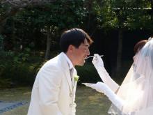 おちゃむの『よろこびの庭』-東谷結婚式 ファーストバイト