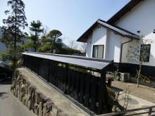おちゃむの『よろこびの庭』-備前 吉村様邸 塀 完成