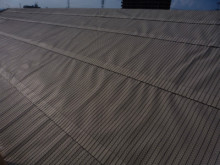 おちゃむの『よろこびの庭』-工事流れ 下葺き材張り