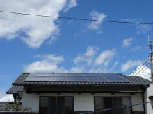 おちゃむの『よろこびの庭』-奥山康広様 太陽光設置