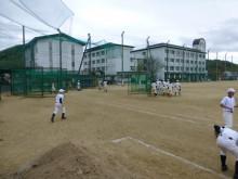 おちゃむの『よろこびの庭』-24.4.17. 城東野球練習風景