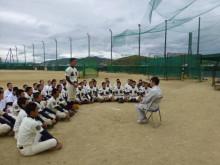 おちゃむの『よろこびの庭』-24.4.17. 城東野球練習部員からの挨拶