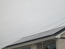 おちゃむの『よろこびの庭』-栗田様後 太陽光発電