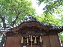 おちゃむの『よろこびの庭』-正八幡宮 拝殿