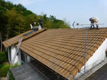 モニエル瓦から屋根替え