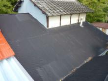 浪鉄板屋根からROOGA
