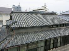 本葺き瓦から超軽量屋根