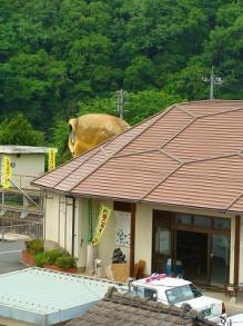 おちゃむの『よろこびの庭』-亀甲駅 拡大