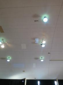 朝日学園 天井前